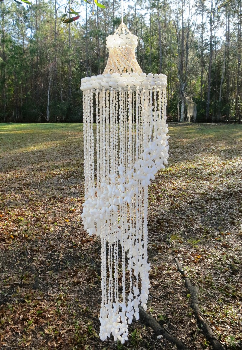 How To Make Wind Chimes How To Make A Wind Chime Out Of Seashells Rocketshotz