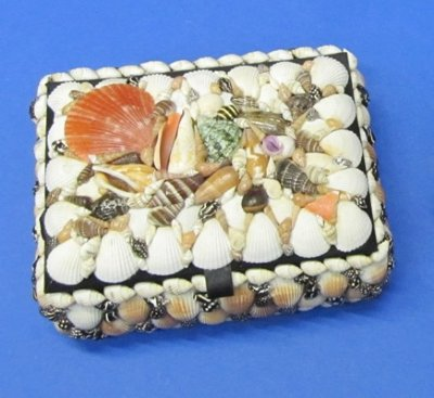 8 inch large rectangle shell jewelry boxes for Large seashells for crafts