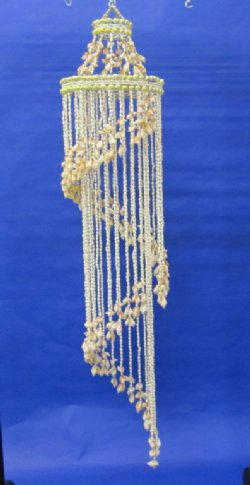 Large Spiral Seashell Chandeliers 51 Inches 1175