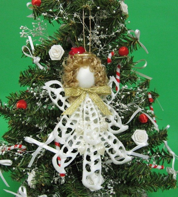 white center cut cerithium seashell angel christmas ornaments wholesale packed 5 185 eachdiscount