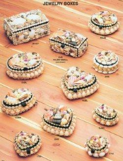 Seashell jewelry boxes wholesale and bulk Shell Box