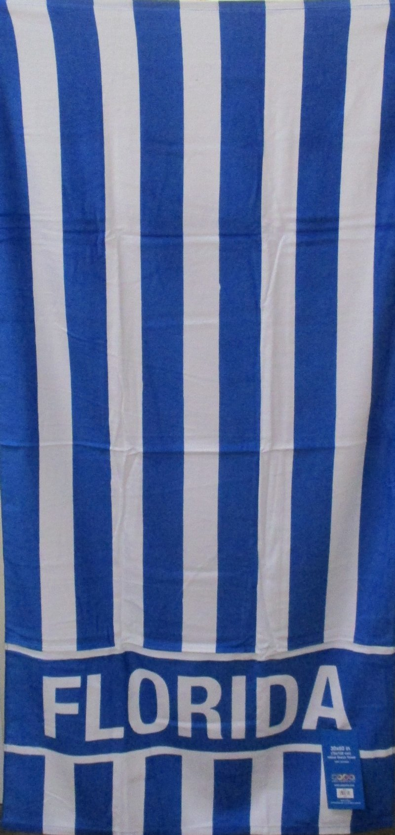 Wholesale Florida Cabana Stripe Print Beach Towels 3 Fiber Reactive